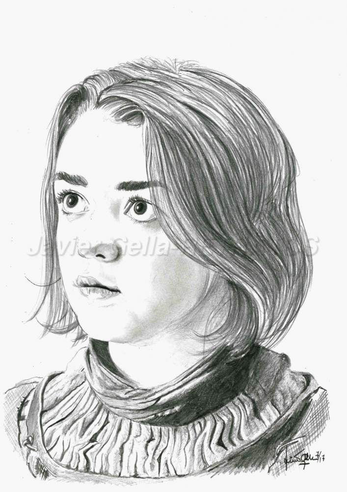 Maisie Williams by JumpingJack